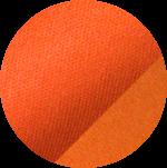 Swatch of orange Pima Soft-Touch fabric