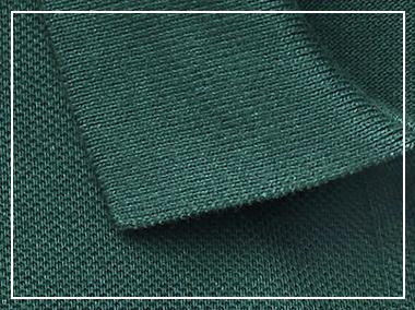 Close-up of Polo shirt collar