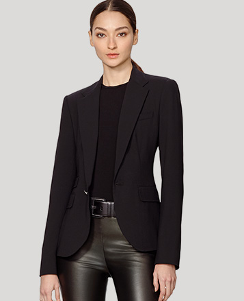 Parker Stretch Wool Jacket